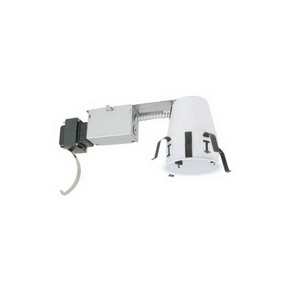 Elite Lighting BL4R-AT Miniature Low Voltage Noise-Free 4 Inch Remodel Housing; Non-Insulated