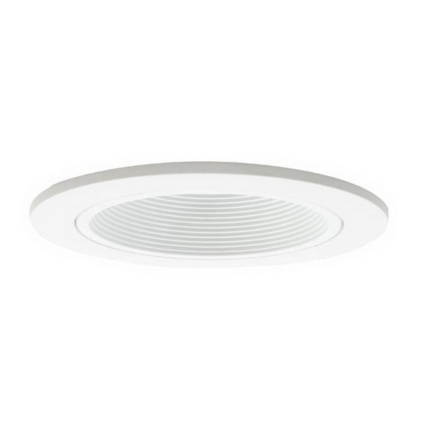 Elite Lighting B1401W Stepped Baffle Trim; 35 Watt, White