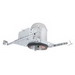 Elite Lighting B5IC-AT-W 1-Light Ceiling Mount Air-Shut 5 Inch Universal Housing; Die-Formed Aluminum, Medium Base Porcelain, Insulated