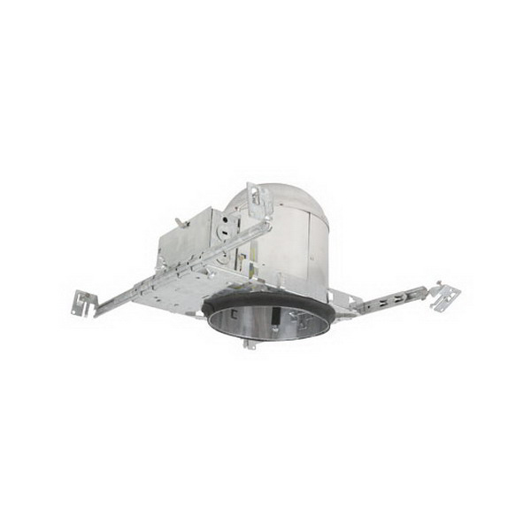 Elite Lighting EZ6IC-AT-W 1-Light Ceiling Mount Thermally Protected Specification Grade 6 Inch Universal Housing; Die-Formed Aluminum, Medium Base Porcelain, Insulated