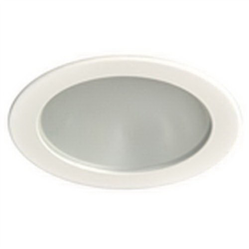 Elite Lighting B437-WH Ceiling Mount 4 Inch Shower Trim; White