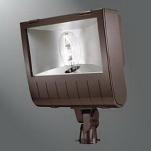 Cooper Lighting MHNKS1K Lumark® 1-Light Heavy-Duty Metal Halide Flood Light; 1000 Watt, Bronze
