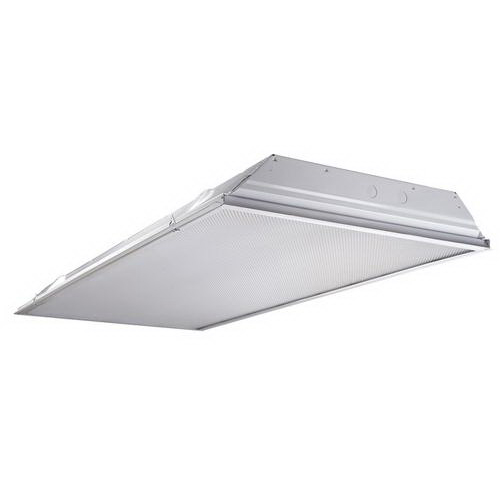 Cooper Lighting 2GR8332AUNVL8741A38218GEB81U 3-Light Grid/Lay-In (Standard) Mount General Purpose Static T8 Fluorescent Recessed Lensed Troffer; 120/277 Volt At 50/60 Hz
