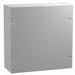 Hammond CS884 CS Series Junction Box; 8 Inch Width x 4 Inch Depth x 8 Inch Height, Screw-On Cover, Mild Steel, ANSI 61 Gray