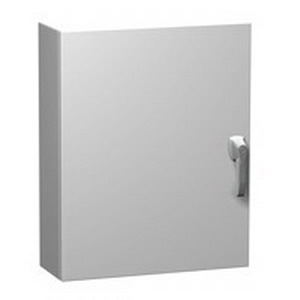 Hammond EN4SD483616SSWH Hinged Enclosure 304 Stainless Steel  RAL 9003  48 Inch Length x 36 Inch Width x 16 Inch Depth