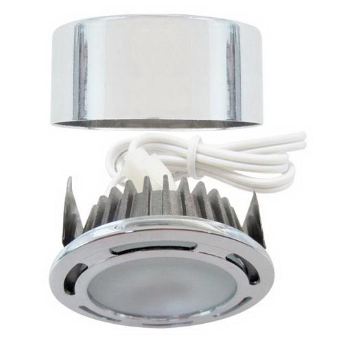 elco e347b recessed surface mount mini led puck light kit. Black Bedroom Furniture Sets. Home Design Ideas