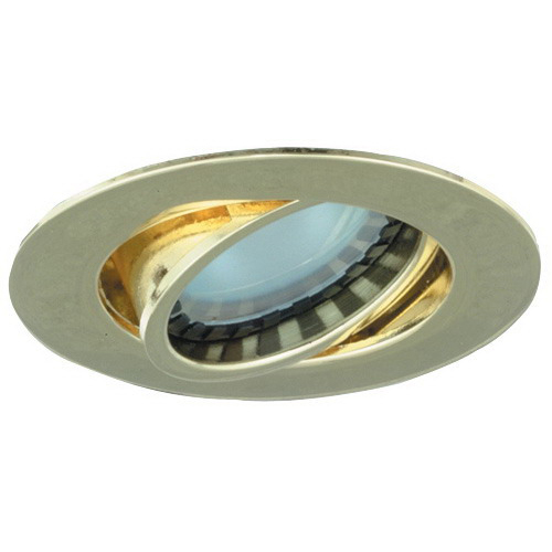 Elco E222B Mini Downlight With Gimbal Ring; 20 Watt MR11, Ceiling Mount, Black Trim