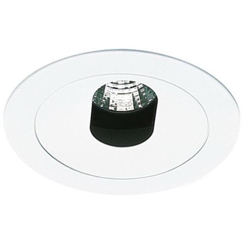 Elco EL1420W Ceiling Mount Low Voltage 4 Inch Adjustable Slot Aperture Trim; White