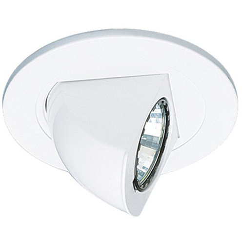 Elco EL1497W 1 Light Ceiling Mount Low Voltage 4 Inch Adjustable Pull