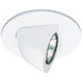 Elco EL1497W 1-Light Ceiling Mount Low Voltage 4 Inch Adjustable Pull Down Trim; White