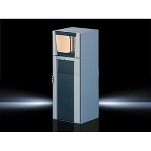 Rittal 8368100 PC Enclosure Sheet Steel- 23.600 Inch Width x 32.900 Inch Depth x 63 Inch Height-