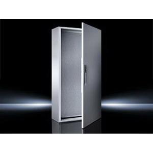 """Rittal 5117500 Compact Enclosure Panel Mount, 16 Gauge Sheet Steel Body, 14 Gauge Sheet Steel Door, RAL 7035 Light Gray,"""""""