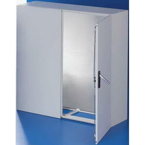 Rittal 5123500 Compact Enclosure Panel Mount- 16 Gauge Sheet Steel Body- 14 Gauge Sheet Steel Door- RAL 7035 Light Gray-