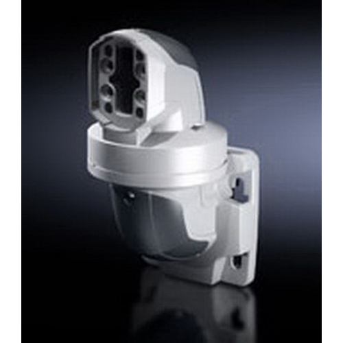 Rittal 6206740 Hinged Horizontal Outlet; Cast Aluminum Hinge, Plastic Cover, RAL 7024 Cover/RAL 7035 Hinge, 270.5 mm Length