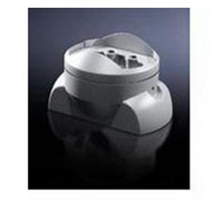 Rittal 6206340 Rectangular Enclosure Coupling; Die-Cast Zinc, RAL 7035, 120 mm x 65 mm
