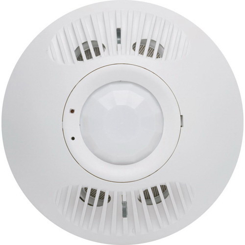 Hubbell Automation OMNIDT1000RP OMNI™ IntelliDAPT® Dual Technology Passive and Ultrasonic Infrared Occupancy Sensor; 24 Volt DC, 1000 Sq ft, Off White, Ceiling Mount