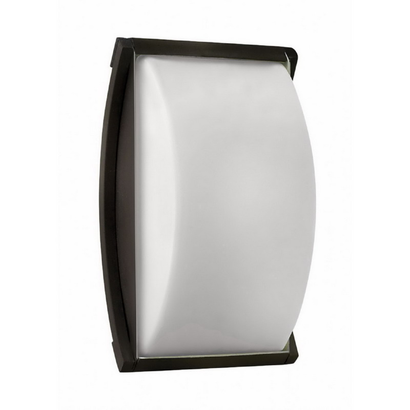 Hinkley Lighting 1650BZ Atlantis Collection 1-Light Compact Fluorescent Outdoor Wall Lantern 60 Watt Bronze Lamp Not Included