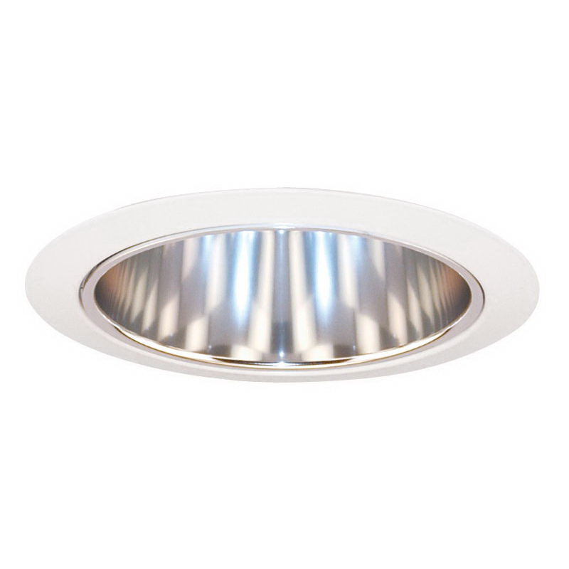 capri lighting h65f round 6 inch horizontal cone trim clear