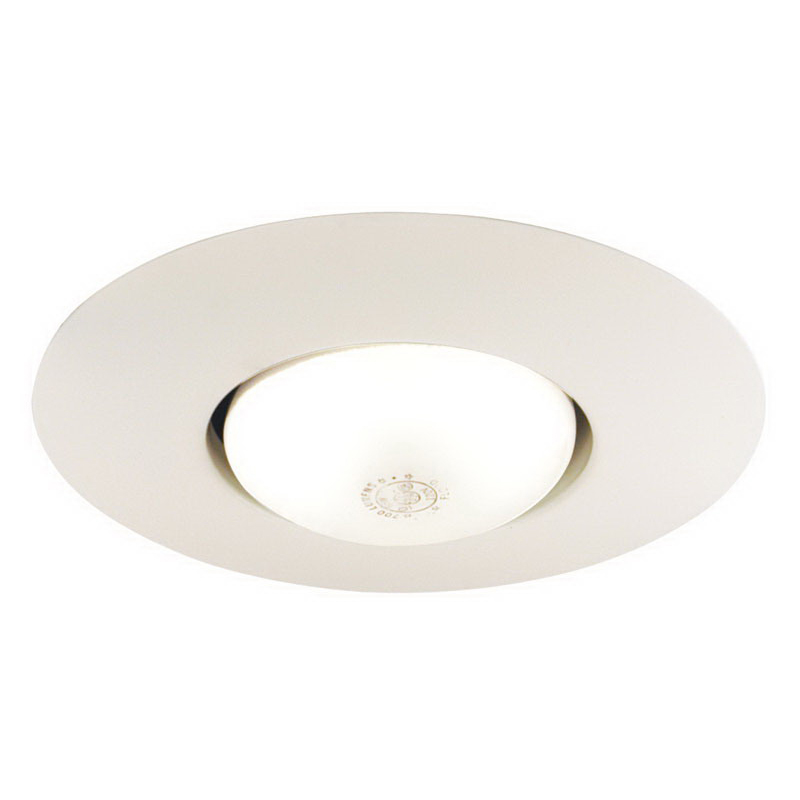 Juno Lighting 250-WH Ceiling Mount 6 Inch Open Frame Trim; Insulated, White
