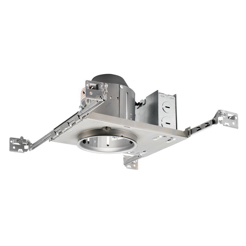 Juno Lighting TC1 1-Light Ceiling Mount TC Series 4 Inch Miniature Universal Housing; Steel, Medium Base, Non-Insulated