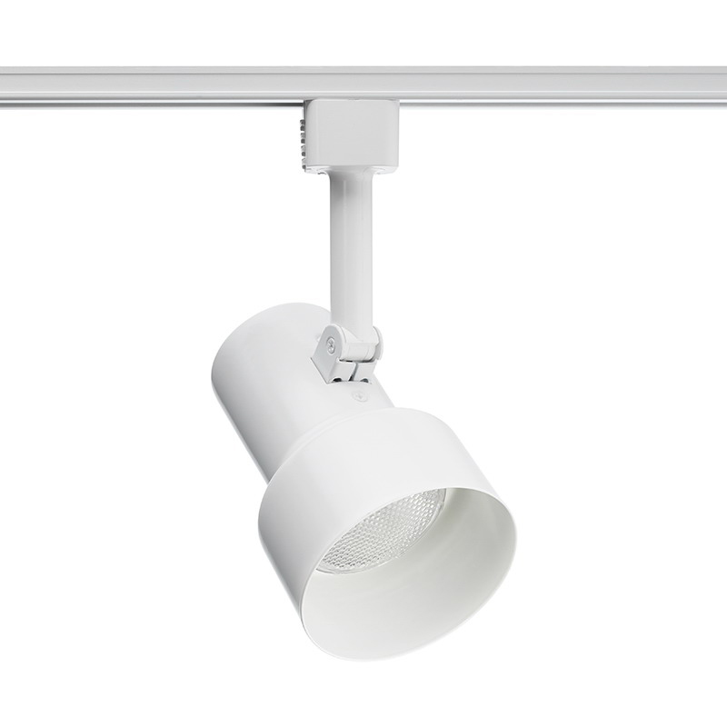 Juno Lighting R510WH Step Cylinder Halogen Spotlight; 50 Watt, Medium Base Porcelain, White, Lamp Not Included