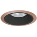Juno Lighting 24B-ABZ 6 Inch Tapered Trim With Baffle; Classic Aged Bronze
