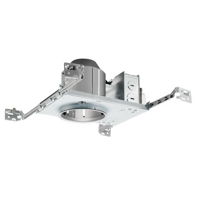 Juno Lighting TC44 1-Light Ceiling Mount TC Series Low Voltage 50 Watt MR16 Incandescent 4 Inch Universal Housing; Steel, Medium Base, Non-Insulated