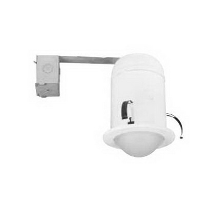 Juno Lighting 604B-WH 1-Light 6 Inch Super Sloped Multiplier Baffle Trim; Insulated/Non-Insulated, White