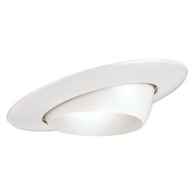 Juno Lighting V4018-WH VuLite® 1-Light 4 Inch Adjustable Eyeball Trim; White