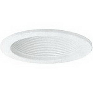 Juno Lighting V4044W-WH LED 4 Inch Baffle Trim; 50 Watt, White