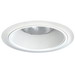 Juno Lighting 24W-WH Ceiling Mount 6 Inch Tapered Baffle Trim; Non-Insulated, White