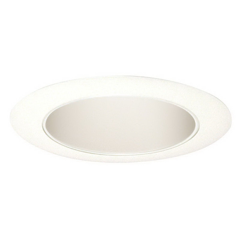 Juno Lighting 17W-WH 1-Light Ceiling Mount Line Voltage 4 Inch Reflector Cone Trim; Insulated, White