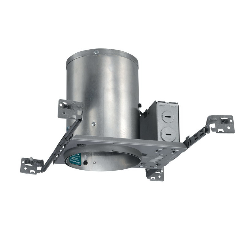 Juno Lighting IC20 1-Light Ceiling Mount 5 Inch Universal Housing; Aluminum, Medium Base, Insulated