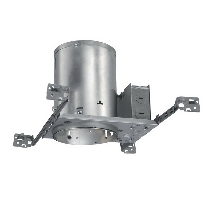 Juno Lighting TC20 Ceiling Mount 5 Inch Housing; 0.032 Inch Aluminum, Medium Base Porcelain, Non-Insulated