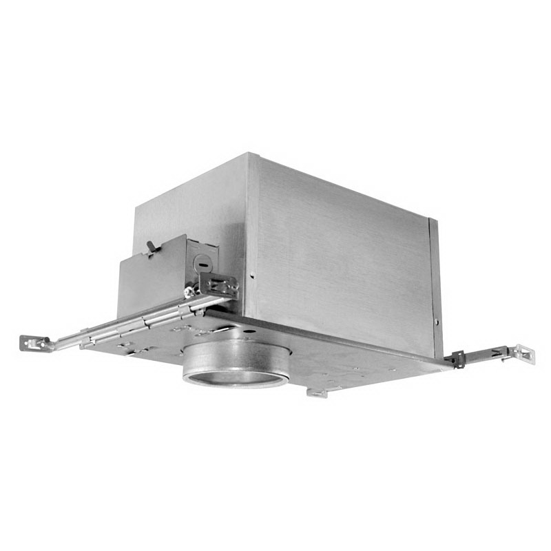 Juno Lighting IC44N 1-Light Ceiling Mount Low Voltage 4 Inch Housing; Aluminum, Bi-Pin Base, Insulated