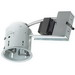 Juno Lighting V6ICR VuLite® 1-Light Ceiling Mount Line Voltage 6 Inch Remodel Housing; 0.028 Inch Aluminum, Insulated