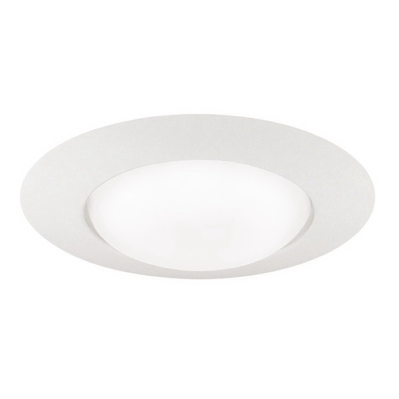 Juno Lighting 251-WH Ceiling Mount 6 Inch Open Frame Trim; Insulated, White