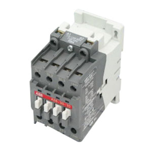 ABB A26N1-30-10-84 AC Non-Reversing Contactor; 27 Amp, 120 Volt AC, 3 Phase