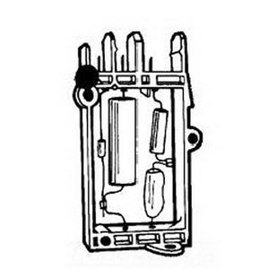 GE Lighting 35-216702R10 HID Igniter; 40/150/250 Watt