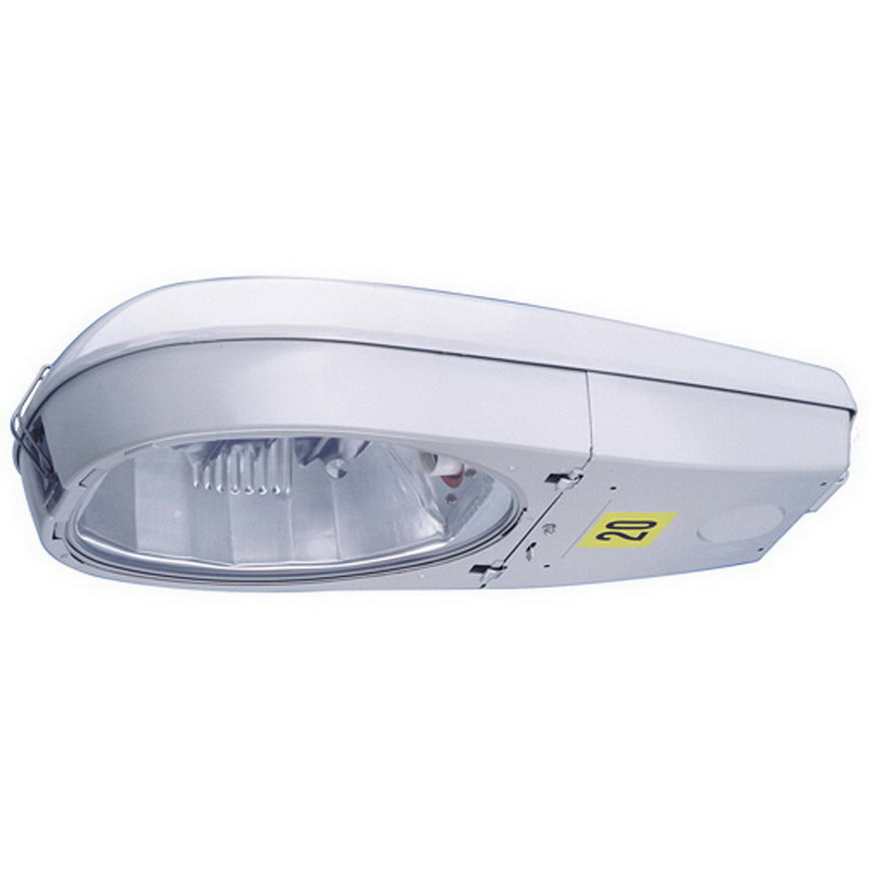 GE Lighting MDCL40S0A22FMC21 Powr/Door® MDCL Model Type II/III Roadway Luminaire With Cut-Off Optics; 400 Watt, Polyester Powder Gray Paint