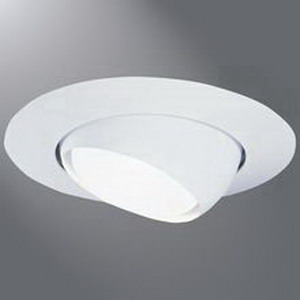 Cooper Lighting 78P Halo® 1-Light Ceiling Mount 6 Inch Trim with Eyeball; White