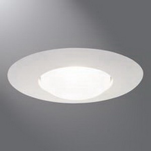 Cooper Lighting 301P Halo® 1-Light Ceiling Mount 6 Inch Open Trim; White