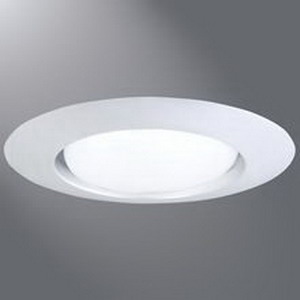Cooper Lighting 401P 6 Inch Recessed Open Trim; White