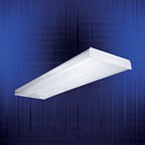 Cooper Lighting W-2A-U Lens; For 4 ft W Series 2-Lamp Wraparound Fluorescent Fixtures