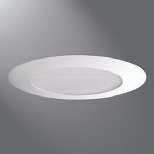 Cooper Lighting 170PS Halo® 1-Light Ceiling Mount 6 Inch Reflector Air-Tite Trim; White Trim, Albalite Frosted Lens