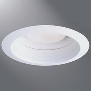 Cooper Lighting 30WAT Air-Tite® Halo® 6 Inch Super Trim With Air-Tite Baffle and Reflector; White