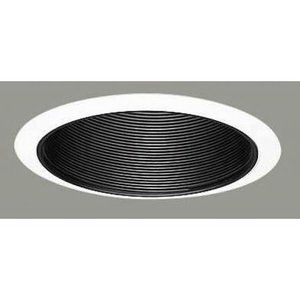 Cooper Lighting 310P Halo® Coilex® 1-Light Ceiling Mount 6 Inch Baffle Trim; White