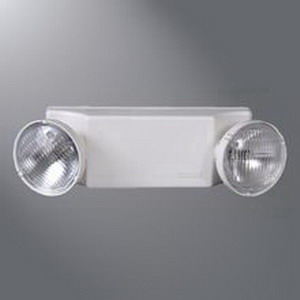 Cooper Lighting CC3WHSD Super-Lites CC Series Emergency Light Fixture; 120/277 Volt AC, 5.4 Watt, White