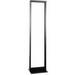 Hubbell Premise HPW84RR19 NextFrame® Fixed Equipment Rack; Floor Mount, 45-Rack Unit, Black