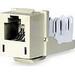 Hubbell Premise HXJ5EEI25 Xcelerator™ Speedgain™ Universal Standard Size Category 5e Modular Datacom Jack; 8P8C, Electric Ivory